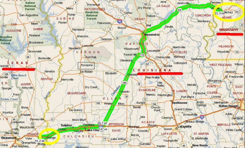 Map Of Texas Border Towns.Texas Louisiana Border Map Business Ideas 2013